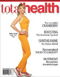 The benefits of Silver Sol for women's health appeared in Total Health, January 2010.